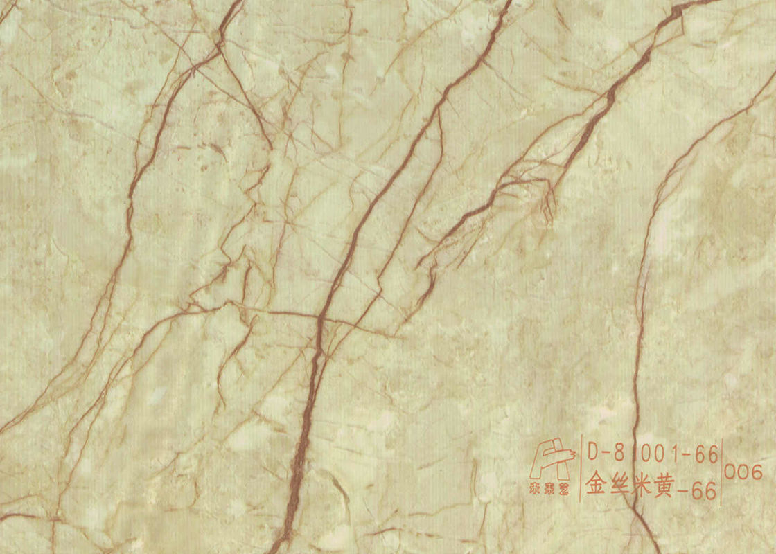 Fashionable Stone Contact Paper Film , Faux Marble Vinyl Film No Bubbles